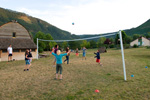 Tournoi de volley au village de vacances